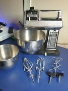 Ge Powermaster Stand Or Hand Mixer With 2 Bowls Vintage 1975 Made Usa Model 3559