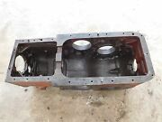Ih Farmall H Transmission Rear End Casting Housing Antique Tractor