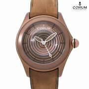 Free Shipping Pre-owned Corum Bubble Optical Art Limited Model 082 311 98