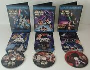 Star Wars The Original Trilogy Dvds Limited Edition W/ Inserts Full Screen