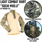 Combat Shirt.sochi Mod.2.russian Army And Special Operation Forces S.o.f.