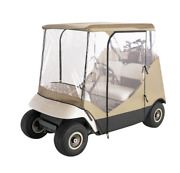 New Classic Accessories Fairway 2-person Travel 4-sided Golf Cart Enclosure
