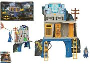 Batman 3-in-1 Batcave Playset With Exclusive Batman Action Figure 4+ Toy Fight