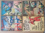 Whiz Comics Dr. Voodoo Lance O'casey 17 Complete Stories Loose Trimmed Pages