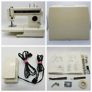 Vintage Sears Kenmore 6 Stitch Sewing Machine Model 158 13400 In Case - Tested