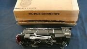 Lionel Gunmetal 263e And Oil Tender E+ To Ln In Oband039s And 4 Baby Blue Comet Cars