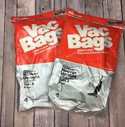 Home Care Vac Bags Style 817 4 Pk For Hoover Upright Vacuums Type A Lot Of 2