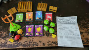 Mattel Angry Birds Knock On Wood Game W2793 Complete Blocks Pigs Launcher Cards