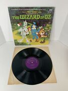 The Story And Songs Of The Wizard Of Oz From The Book By L Frank Baum Lp Record