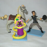 Tangled The Series Toy Figurines Rapunzel/flynn Rider/maximus Horse Cake Topper