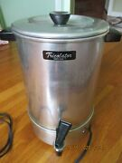 Vintage Tricolator. Aluminum Automatic Coffee Maker 12-30 Cups. Texted