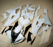 Injection Fairing Cowl Kit For Yamaha Yzf R6 2008-2016 09 10 2011 Unpainted Body