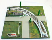 American Flyer 26101 Scenic Curved Track Panel Gilbert All Aboard