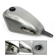 9l 2.4gal Cafe Racer Fuel Tank Gas Cap For Honda Iron Horse Steed Vlx400 Vlx600