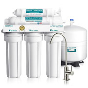 5-stage Under-sink Reverse Osmosis Water Filter System Solid Block Filters New