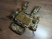 Wholesale Lot Of 10 Avis Mk3 Mk4 Micro Fight Chest Rigs Chassis In Multicam.
