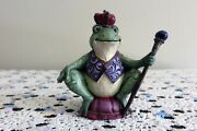 Jim Shore Miniature Frog W/crown And Scepter Figurine 4021440
