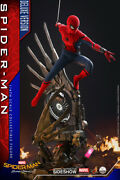 Hot Toys Qs015 Homecoming 1/4 Quarter Scale Spider-man Deluxe Spiderman Marvel