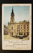 1928 Budapest Hungary To St Paul Minnesota St Anne Church Picture Postcard Cover