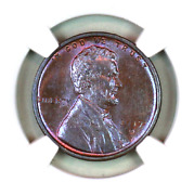 1917-d Ms62 Bn Ngc Lincoln Wheat Penny Superb Registry Quality Collection