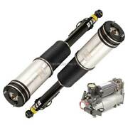 Rear Air Struts W/ Compressor For Mercedes S430 S600 And S500 Pair Arnott