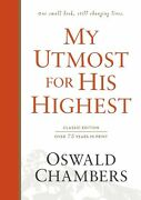 My Utmost For His Highest Classic Edition-hardcover