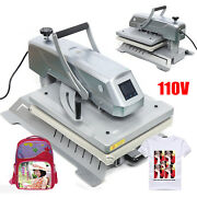 16and039and039x20and039and039 3in1 T-shirt High Pressure Heat Press Machine Digital Sublimation Tran