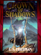 Crown Of Shadows Coldfire By C S Friedman - Hardcover 1st And 1st