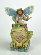 Have You Kissed A Frog Today 2009 Jim Shore 4014980 Girl Fairy Sitting On Toad
