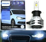 Philips Ultinon Led G2 6000k White H3 Two Bulbs Fog Light Replacement Upgrade Oe