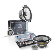 """Focal Kit165w-rc 6.5"""" 2 Way Component System With Crossover Rms 80w Max 160w"""