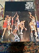 1971-72 New York Nets Yearbook V Denver Rockets Lou Carnesecca Aba 1972 Barry