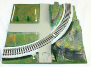 American Flyer 26101 Scenic Curved Track Panel Gilbert All Aboard Rock