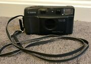 Canon Autoboy Tele 6 Date 35mm Point And Shoot Film Camera