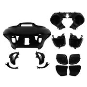 Inner Outer Fairing Speaker Glove Boxes Air Duct Fit For Harley Road Glide 15-up
