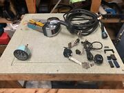 Mercury Outboard, Remote Control W/ Wiring Harness 13pin, + Tach And Key Switch