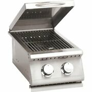 Summerset Grills Stainless Steel Sizzler Double Side Burner Sizsb2 Natural Gas