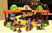 Fisher Price Little People Klip Klop Mike The Knight Arena Playset With Extras