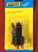 Ignition Switch Inboard Boat Marine Off On Start 3 Position Seachoice 11641