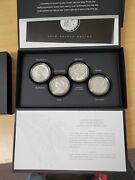 2017 American Liberty 4 Coin Silver Medal Set With Box And Coa Us Mint