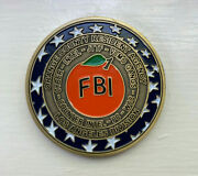 Fbi Challenge Coin - Los Angeles Field Office - Orange County Resident Agency