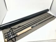 G. Loomis Nrx + 690-4 Fly Rod 9ft, 6wt, 4pc New W/sa Amp Smooth Wf6f Line
