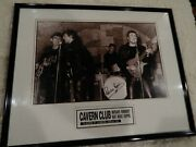 The Beatles - Pete Best Signed Picture Cavern Club Limited Edition 1,042/10,000