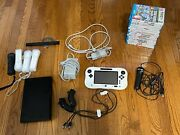 Nintendo Wii U Console Bundle With 17 Games Controller Pad 32gb