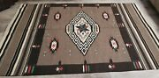 mexican Saltillo Weaving, Late 1800's-early 1900's. / Wall Hanging / Rug.