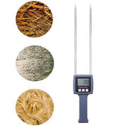 Portable Hay Moisture Meter For Cereal Straw Bran Forage Grass Emperor Bamboo