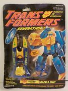 Manta Ray Sealed Misb Mosc Rotor Force G2 Transformers New