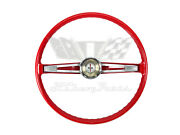 1962 Chevy Bel Air Steering Wheel With Horn Ring And Button