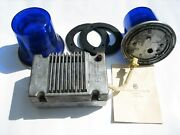 Set Of Special Signals For Soviet Classic Cars Police Ambulance Fire Department