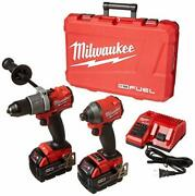 Milwaukeeand039s Electric Tools 2997-22 Hammer Drill/impact Driver Kit